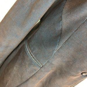 Harve Benard Jackets & Coats - Harve Benard Brown Blue Corduroy Blazer Jacket